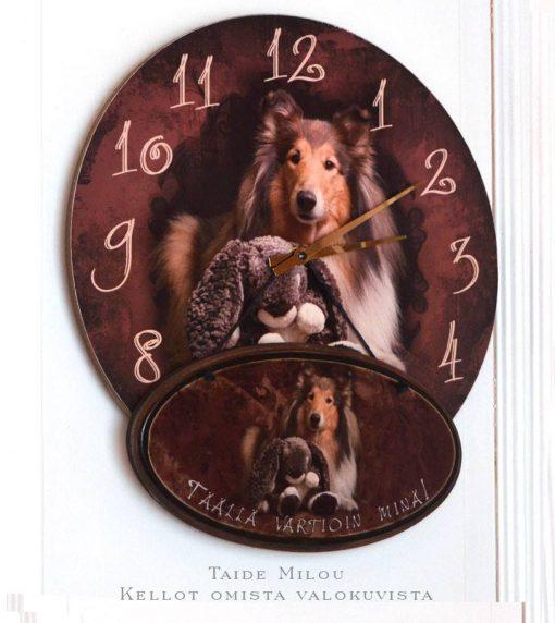 Kello omista kuvista